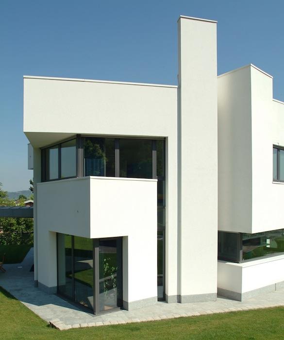Casa farfalla edificio residenziale unifamiliare for Piani casa ultra contemporanei