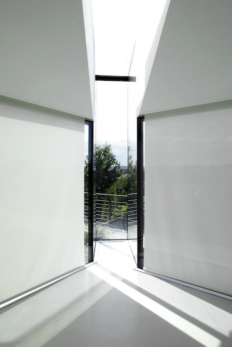 Cucina di vetro archicura archicura - Tende a vetro cucina ...